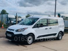 FORD TRANSIT CONNECT *LWB - 5 SEATER CREW VAN* (2018 - EURO 6) 1.5 TDCI *A/C* (1 OWNER)