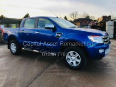 "ON SALE FORD RANGER 2.2TDCI ""LIMITED"" AUTO D/C (14 REG) FULL LEATHER *SAT NAV* CLIMATE & AC - CRUISE"