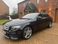 "On Sale MERCEDES E220d ""AMG LINE"" AUTO - 18 REG - BLACK - LEATHER - SAT NAV - LOW MILES - HUGE SPEC"