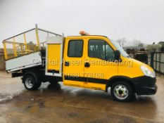IVECO DAILY 2.3TD 35C13 LWB *TIPPER* (14 REG) ONLY 78K *COUNCIL OWNER FROM NEW* 3500KG TWIN WHEELER