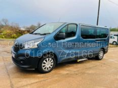 RENAULT TRAFIC *LWB - 9 SEATER MPV / BUS* (2017 - EURO 6) '1.6 DCI - 6 SPEED' *AIR CON* (NO VAT)
