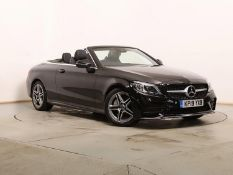 On Sale MERCEDES-BENZ C220D *AMG LINE - CABRIOLET* (2019) '9G TRONIC AUTO - LEATHER - SAT NAV' *