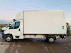 ON SALE CITROEN RELAY 2.2HDI (130) LONG WHEEL BASE LUTON BOX VAN - EURO 6 - 66 REG - TAIL LIFT -