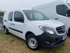 On Sale MERCEDES CITAN 109CDI LWB DUALINER / CREW / KOMBI VAN 5 SEATER - 2017 MODEL - 1 OWNER FSH -