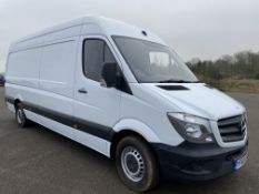 "On Sale MERCEDES SPRINTER 314CDI ""LWB HIGH ROOF"" (140) 2018 MODEL - 1 OWNER - LOW MILES - ""EURO 6"""