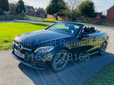 ON SALE MERCEDES-BENZ C220D *AMG LINE - CABRIOLET* (2019) '9G TRONIC AUTO - LEATHER - SAT NAV'