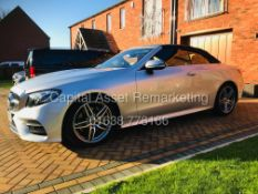 "ON SALE MERCEDES E220d ""AMG LINE PREMIUM"" CABRIOLET (19 REG) 1 OWNER - LOW MILES - MEGA SPEC- COMAND"