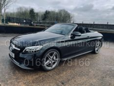 (ON SALE) MERCEDES-BENZ C220D *AMG LINE - CABRIOLET* (2019) '9G TRONIC AUTO - LEATHER - SAT NAV'