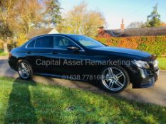 "MERCEDES E220d ""AMG-LINE"" SALOON (18 REG) 1 OWNER *COMAND SAT NAV* CLIMATE / AC - REAR CAMERA *LOOK*"