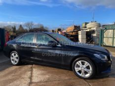 "MERCEDES C220d ""EXCLUSIVE EDITION"" SALOON (17 REG) 1 OWNER FSH *SAT NAV - LEATHER - REVERSE CAMERA"