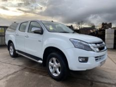 "ON SALE ISUZU D-MAX ""YUKON TWIN TURBO ""2.5 TURBO DIESEL"" 17 REG - NEW SHAPE - 1 OWNER - CANOPY FSH"