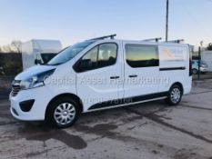 "ON SALE VAUXHALL VIVARO ""SPORTIVE"" 2900 LWB *6 SEATER DUALINER* 1 OWNER -19 REG - LOW MILEAGE -"