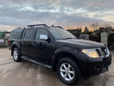 "NISSAN NAVARA 2.5DCI ""TEKNA"" AUTOMATIC - 2015 MODEL - BLACK - SAT NAV - LEATHER - HUGE SPEC -NO VAT!"