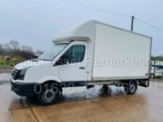 (On Sale) VOLKSWAGEN CRAFTER TDI BMT *LWB-LUTON / BOX VAN* (67 REG -EURO 6) 'U-LEZ'' *TAIL-LIFT*