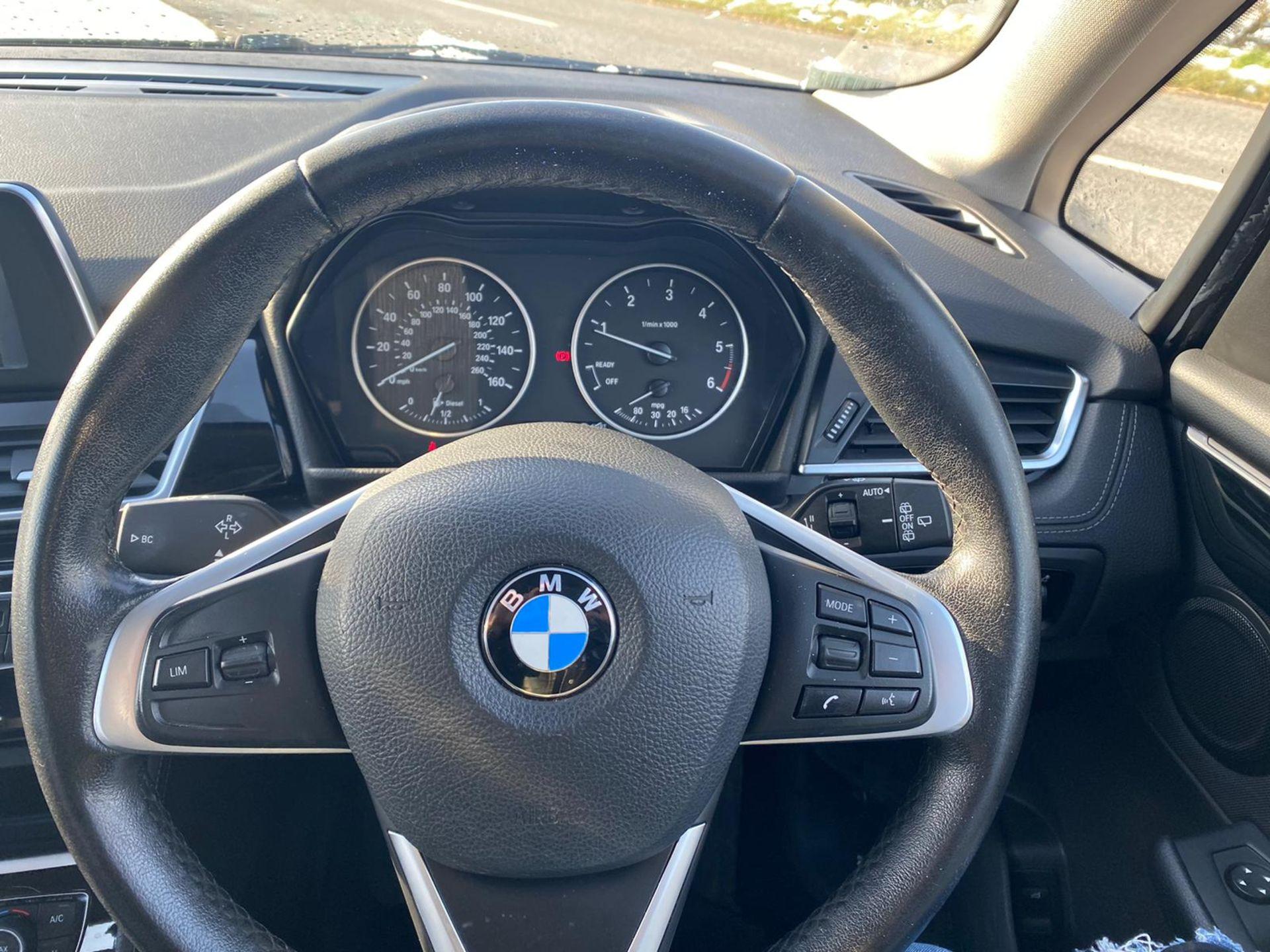 "ON SALE BMW 218d ""SPORT"" MPV 2.0 DIESEL ""EURO 6"" (2016 REG) - 1 OWNER - GREAT SPEC - BLACK - LOOK!! - Image 14 of 16"