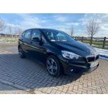 "ON SALE BMW 218d ""SPORT"" MPV 2.0 DIESEL ""EURO 6"" (2016 REG) - 1 OWNER - GREAT SPEC - BLACK - LOOK!!"