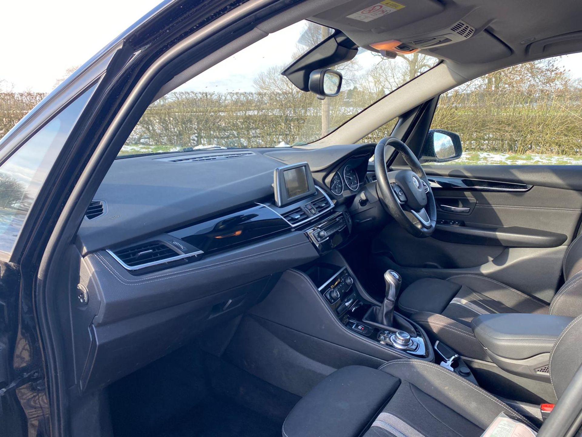 "ON SALE BMW 218d ""SPORT"" MPV 2.0 DIESEL ""EURO 6"" (2016 REG) - 1 OWNER - GREAT SPEC - BLACK - LOOK!! - Image 12 of 16"