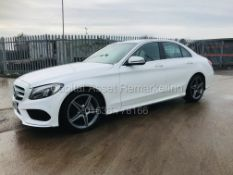 "On Sale MERCEDES C220D ""AMG-LINE"" 9G TRONIC SALOON (18 REG) 1 OWNER WITH HISTORY - SAT NAV -"