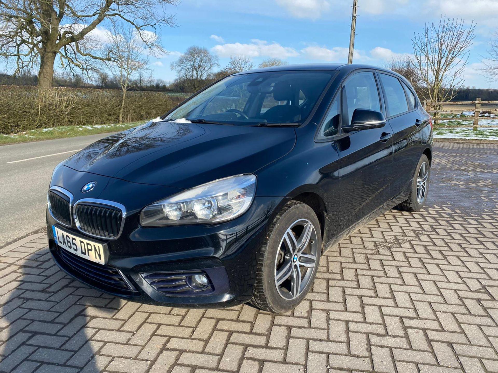 "ON SALE BMW 218d ""SPORT"" MPV 2.0 DIESEL ""EURO 6"" (2016 REG) - 1 OWNER - GREAT SPEC - BLACK - LOOK!! - Image 7 of 16"