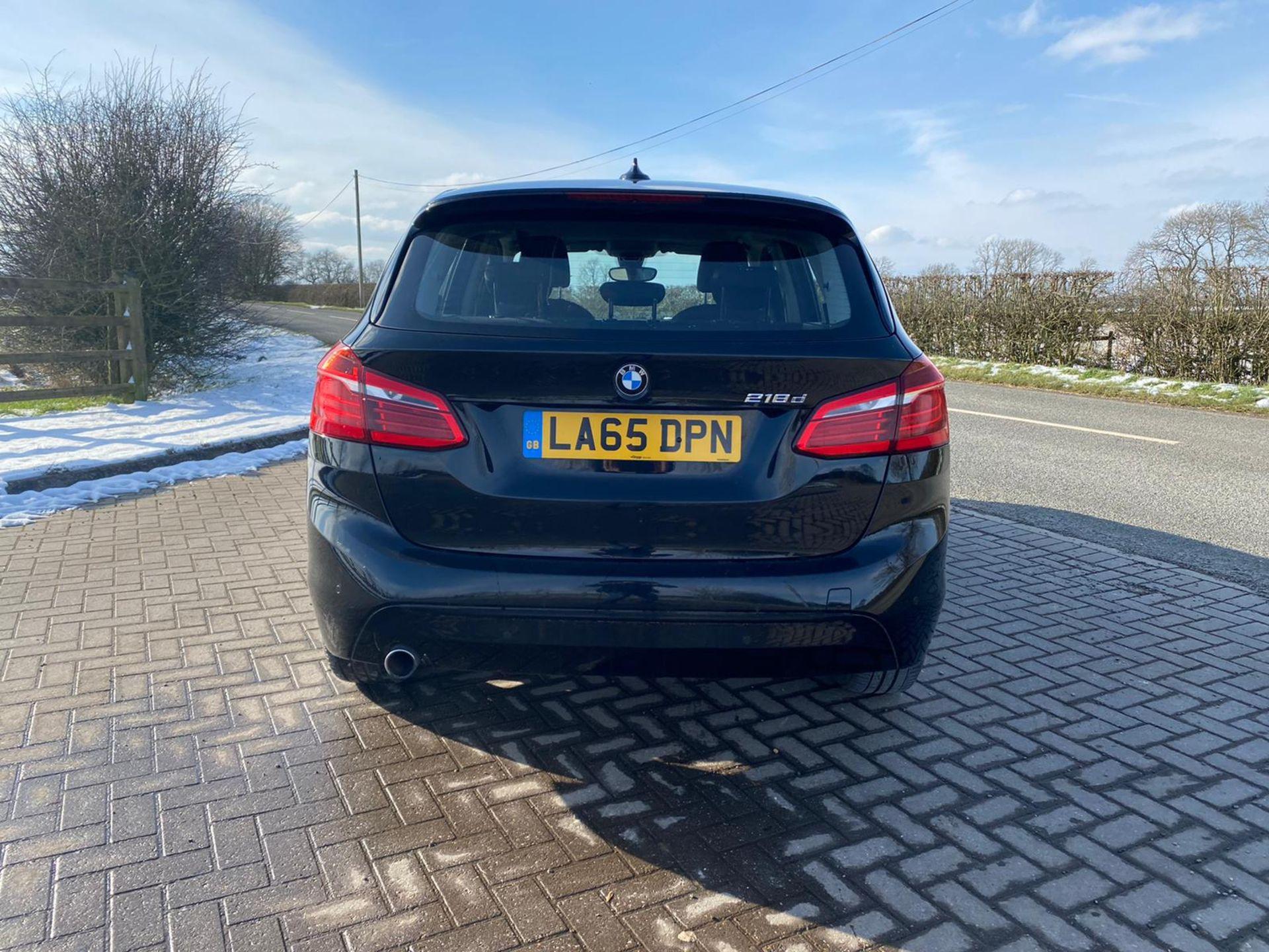 "ON SALE BMW 218d ""SPORT"" MPV 2.0 DIESEL ""EURO 6"" (2016 REG) - 1 OWNER - GREAT SPEC - BLACK - LOOK!! - Image 3 of 16"