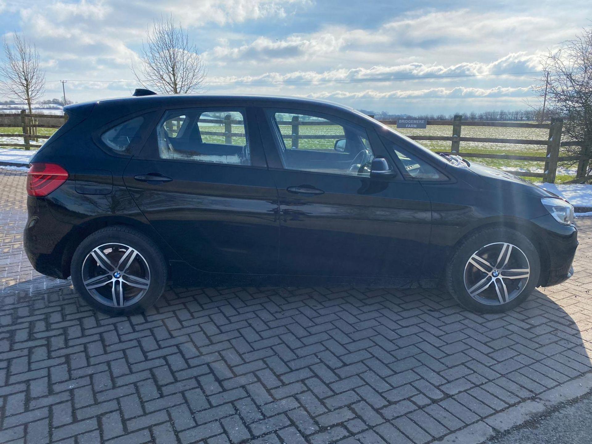 "ON SALE BMW 218d ""SPORT"" MPV 2.0 DIESEL ""EURO 6"" (2016 REG) - 1 OWNER - GREAT SPEC - BLACK - LOOK!! - Image 8 of 16"