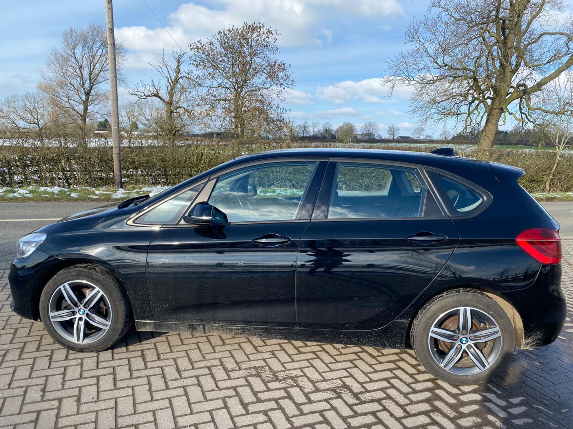 "ON SALE BMW 218d ""SPORT"" MPV 2.0 DIESEL ""EURO 6"" (2016 REG) - 1 OWNER - GREAT SPEC - BLACK - LOOK!! - Image 4 of 16"