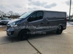 "ON SALE VAUXHALL VIVARO ""SPORTIVE"" 1.6CDTI (120) SPORT VAN (2017 MODEL) 65K MILES -AIR CON -EURO 6"