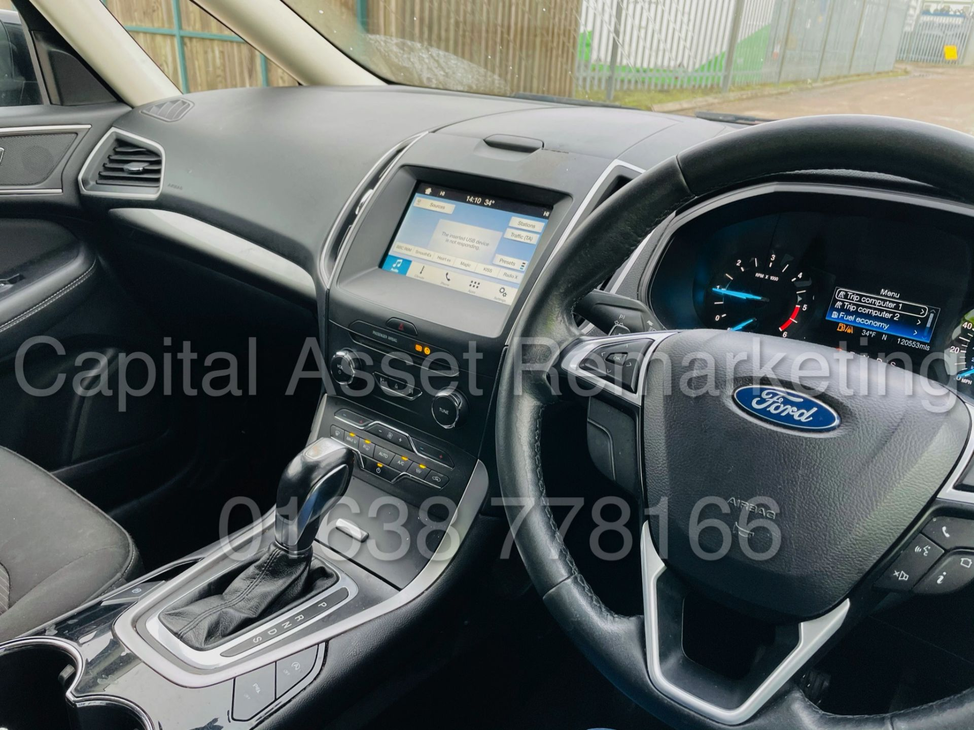 (On Sale) FORD GALAXY *ZETEC EDITION* 7 SEATER MPV (2017 - EURO 6) '2.0 TDCI - AUTO' (1 OWNER) - Image 38 of 48
