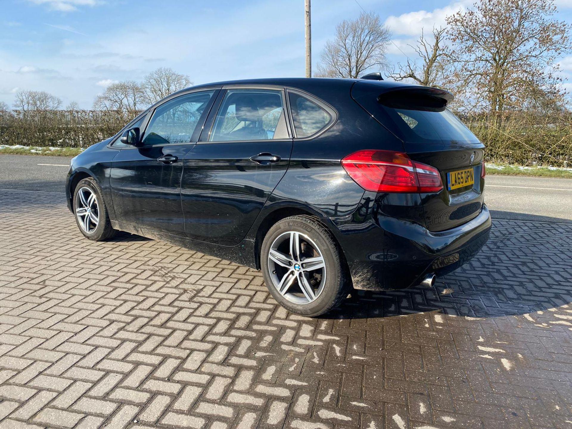 "ON SALE BMW 218d ""SPORT"" MPV 2.0 DIESEL ""EURO 6"" (2016 REG) - 1 OWNER - GREAT SPEC - BLACK - LOOK!! - Image 2 of 16"