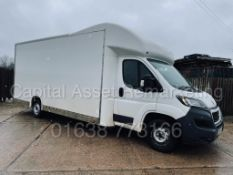 (On Sale) PEUGEOT BOXER *LWB - LO LOADER / LUTON BOX VAN* (67 REG - EURO 6) '2.0 BLUE HDI - 6 SPEED'
