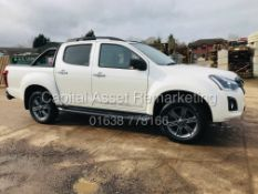 "ISUZU D-MAX ""BLADE"" AUTO (19 REG) FULLY LOADED - SAT NAV - LEATHER - REAR CAMERA -1 OWNER -LOW MILES"