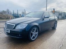 "MERCEDES C220CDI ""SE"" SPECIAL EQUIPMENT AUTOMATIC - 2010 MODEL- BLACK - AMG ALLOYS - NO VAT!!!"