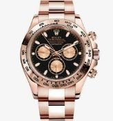 ROLEX COSMOGRAPH DAYTONA 40MM *18CT EVEROSE GOLD* (2020 - NEW / UNWORN) *BEAT THE WAITING LIST*