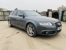 "(On Sale) AUDI A6 2.7TDI V6 ""S LINE"" AVANT ""AUTOMATIC (2010) LEATHER - SAT NAV - HUGE SPEC - NO VAT"