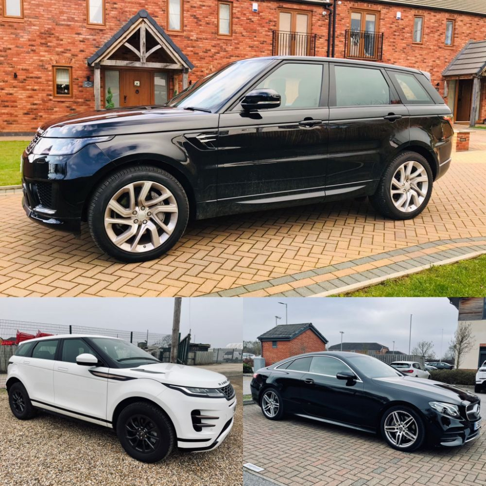 2021 Range Rover Sport D300 *HSE* - 2020 Mercedes-Benz E220d *AMG Coupe* - 2019 Land Rover Discovery Sport *HSE* + Many More: Cars & Commercials