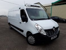 (On Sale) RENAULT MASTER LM35 *BUSINESS PLUS* FRIDGE / PANEL VAN (66 REG - EURO 6) '2.3 DCI-6 SPEED'