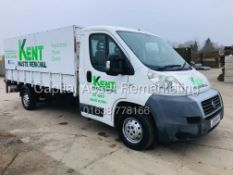 On sale FIAT DUCATO MAXI 2.3JTD LWB DROPSIDE TRUCK - 2010 MODEL - ONLY 96K MILES - HI SIDES -