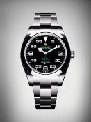 (On Sale) ROLEX AIR-KING 40MM OYSTER STEEL *SPORTS MODEL* (2021 - BRAND NEW) *NO VAT*