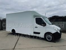 (On Sale) VAUXHALL MOVANO F3500 *LWB - LOW LOADER / LUTON BOX VAN* (2017 - EURO 6) '2.3 CDTI' *A/C*