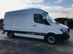 "(ON SALE) MERCEDES SPRINTER 316 CDI 'MWB"" HIGH ROOF FRIDGE / FREEZER VAN - 17 REG- EURO 6 - 161BHP!!"