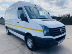 "VOLKSWAGEN CRAFTER CR35 2.0TDI ""BMT"" EURO 6 - 2017 MODEL- MEDIUM WHEEL BASE- 1 OWNER FSH - 89K MILES"