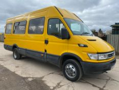 On Sale IVECO DAILY 50C14 *LWB - 17 SEATER BUS / COACH* (55 REG) '3.0 DIESEL - 140 BHP - 6 SPEED'