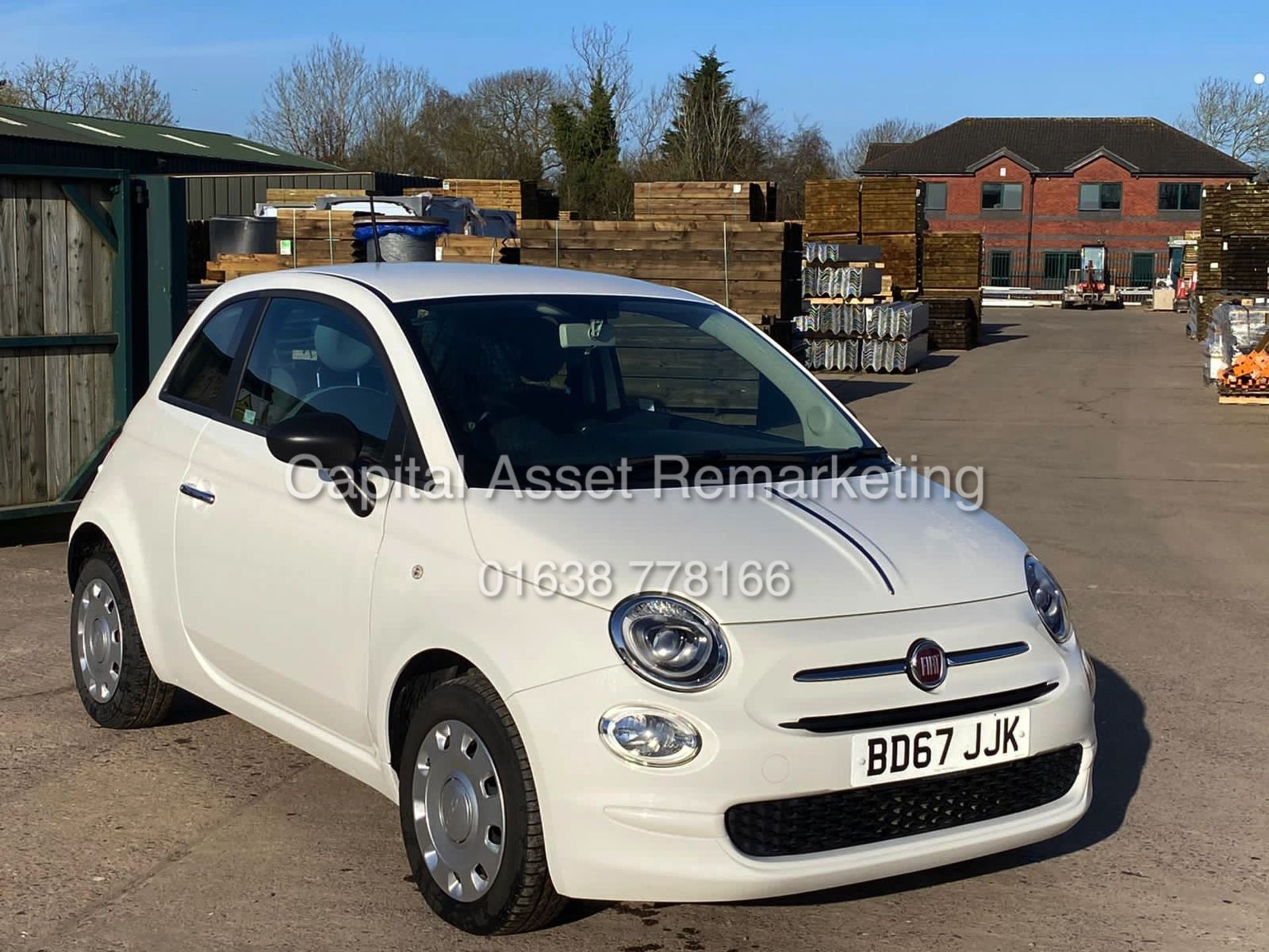 "(On Sale) FIAT 500 ""POP"" 1 OWNER (2018 MODEL) ONLY 30,000 MILES FSH - CRUISE - ELEC PACK - Image 2 of 23"