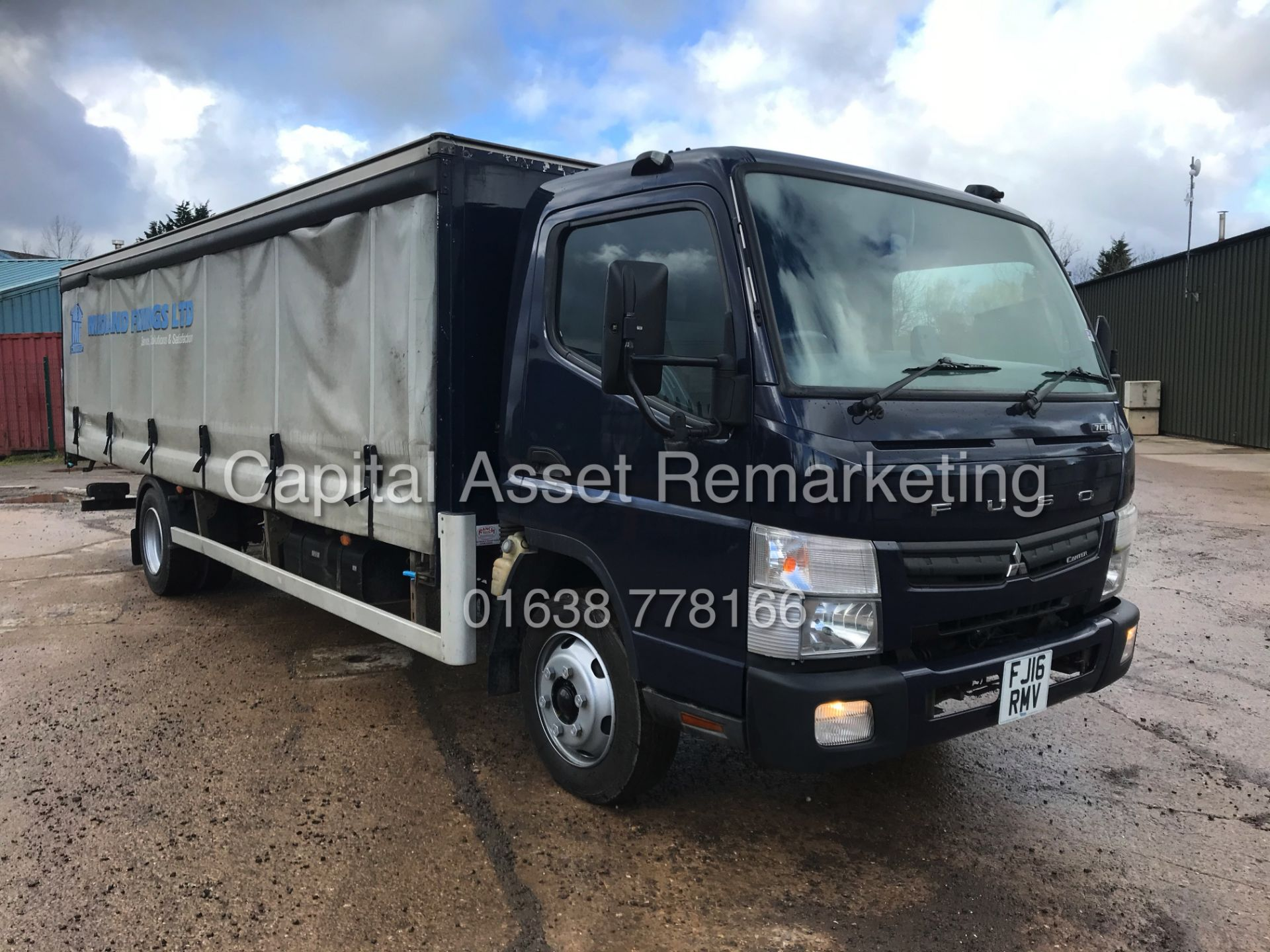 (ON SALE) MITSUBISHI FUSO CANTER 7C18 (16 REG) 1 OWNER *EURO 6* AD-BLUE - 4 WAY CAMERA SYSTEM - Image 5 of 20