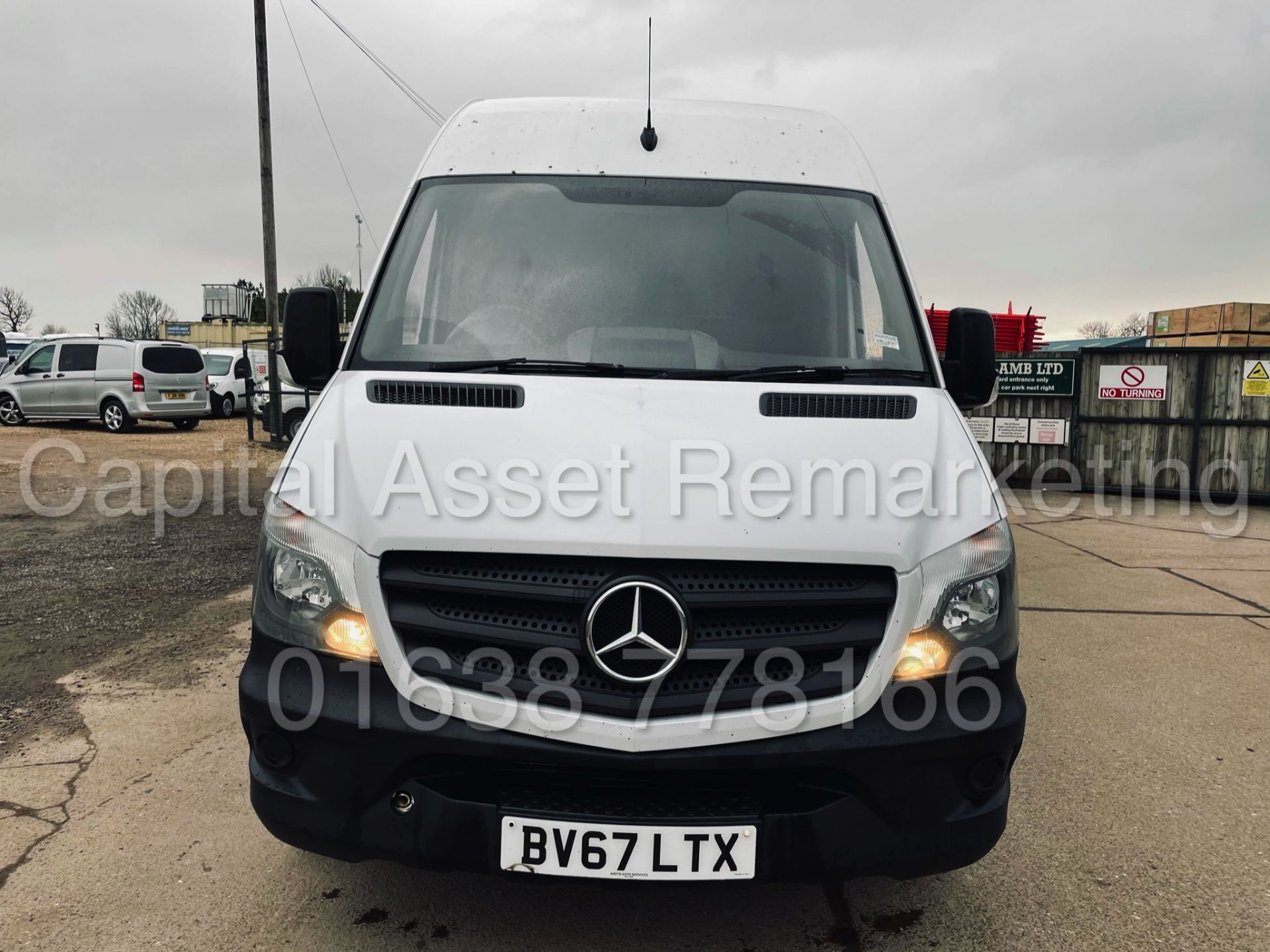 (On Sale) MERCEDES-BENZ SPRINTER 314 CDI *LWB HI-ROOF* (67 REG - EURO 6) '140 BHP-6 SPEED' (1 OWNER) - Image 4 of 37