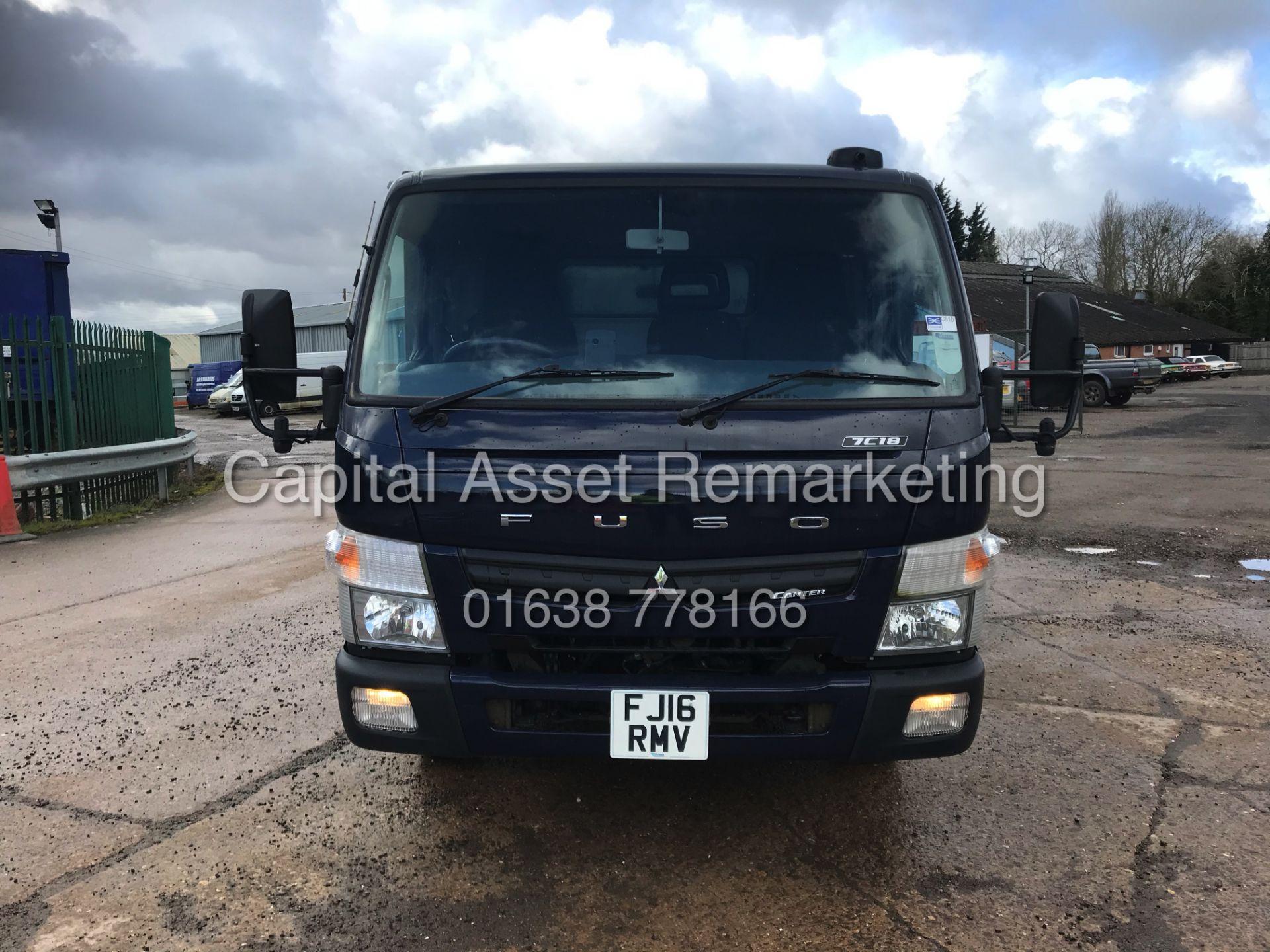 (ON SALE) MITSUBISHI FUSO CANTER 7C18 (16 REG) 1 OWNER *EURO 6* AD-BLUE - 4 WAY CAMERA SYSTEM - Image 4 of 20