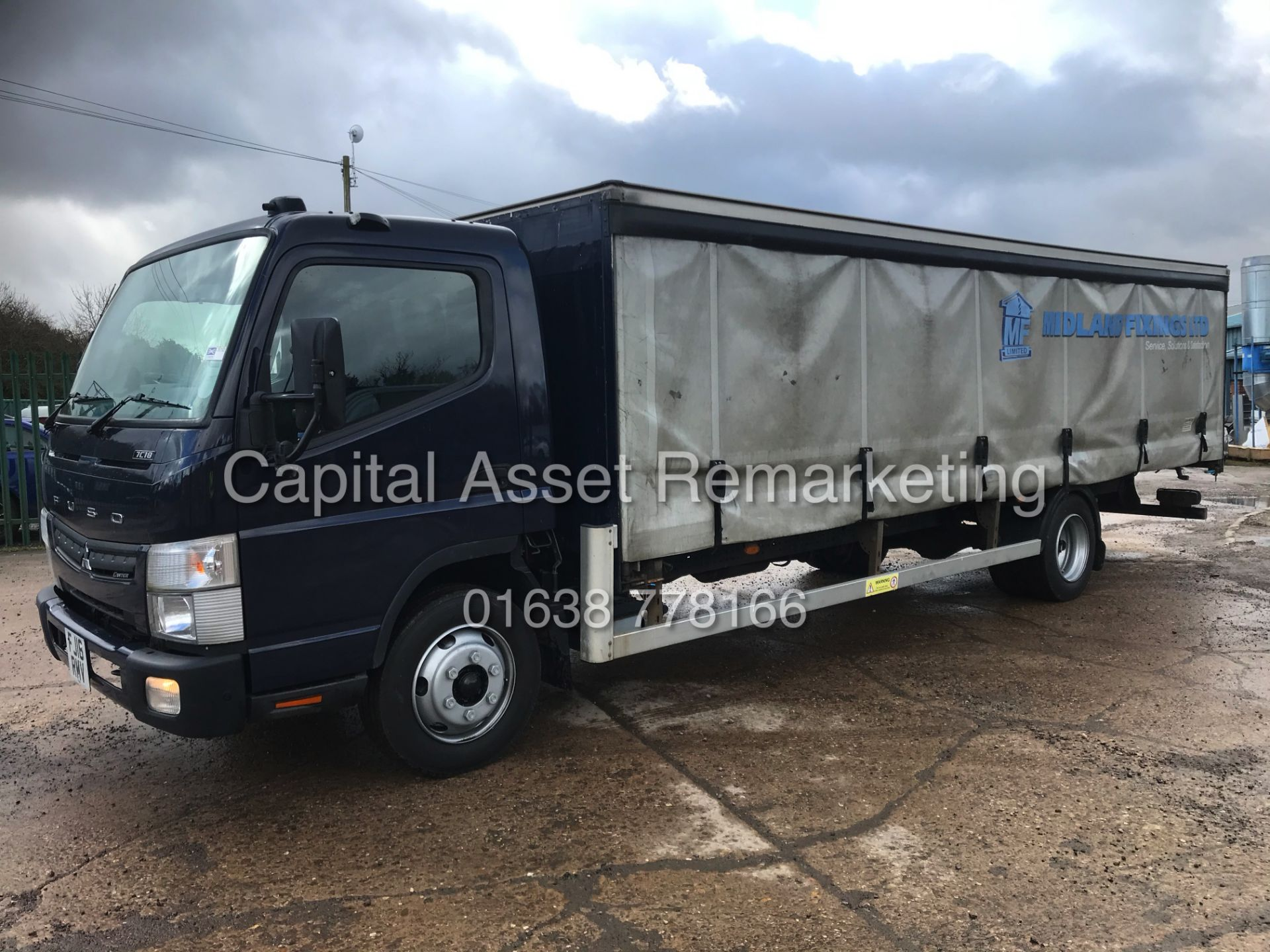 (ON SALE) MITSUBISHI FUSO CANTER 7C18 (16 REG) 1 OWNER *EURO 6* AD-BLUE - 4 WAY CAMERA SYSTEM - Image 2 of 20