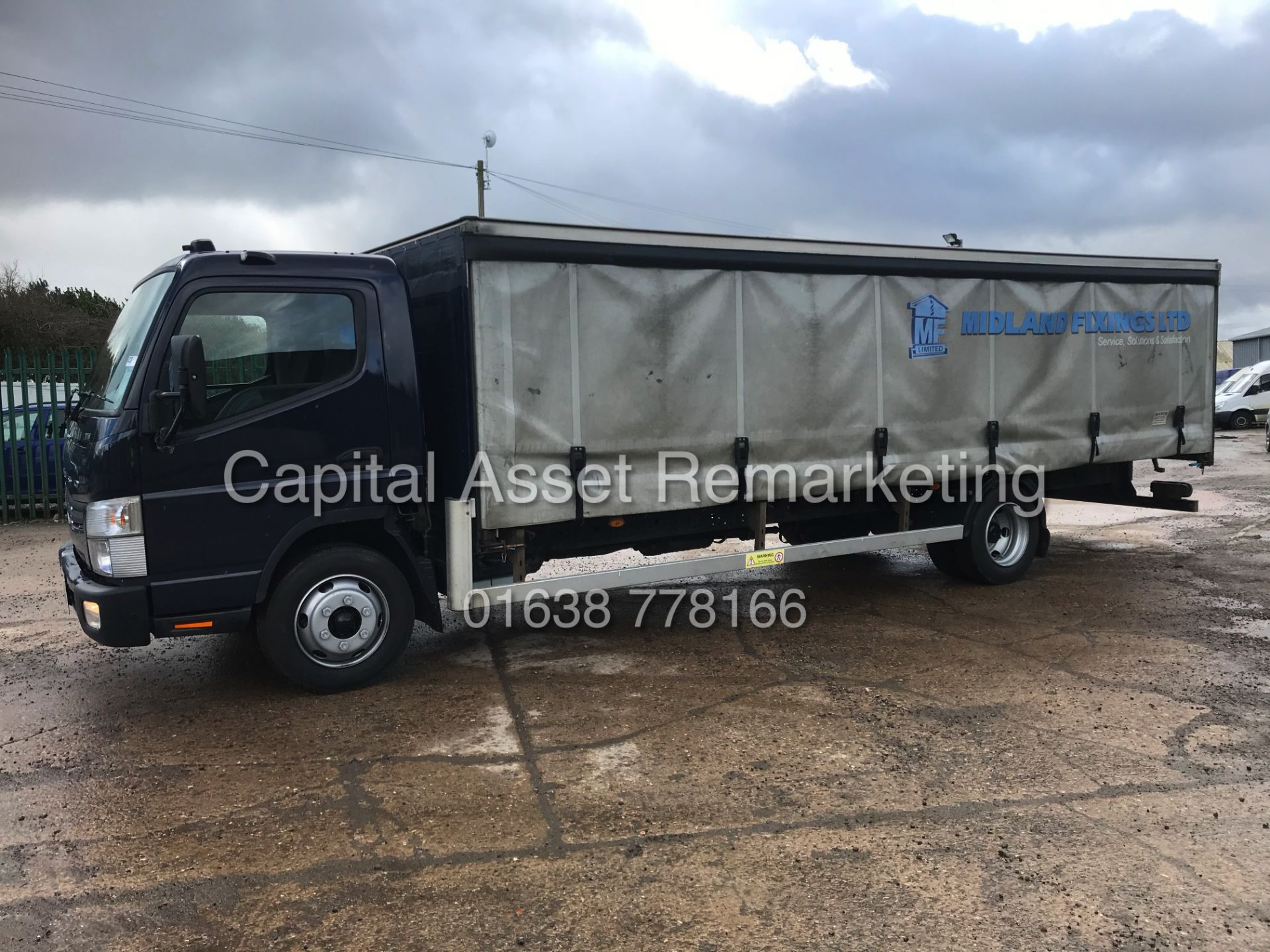(ON SALE) MITSUBISHI FUSO CANTER 7C18 (16 REG) 1 OWNER *EURO 6* AD-BLUE - 4 WAY CAMERA SYSTEM