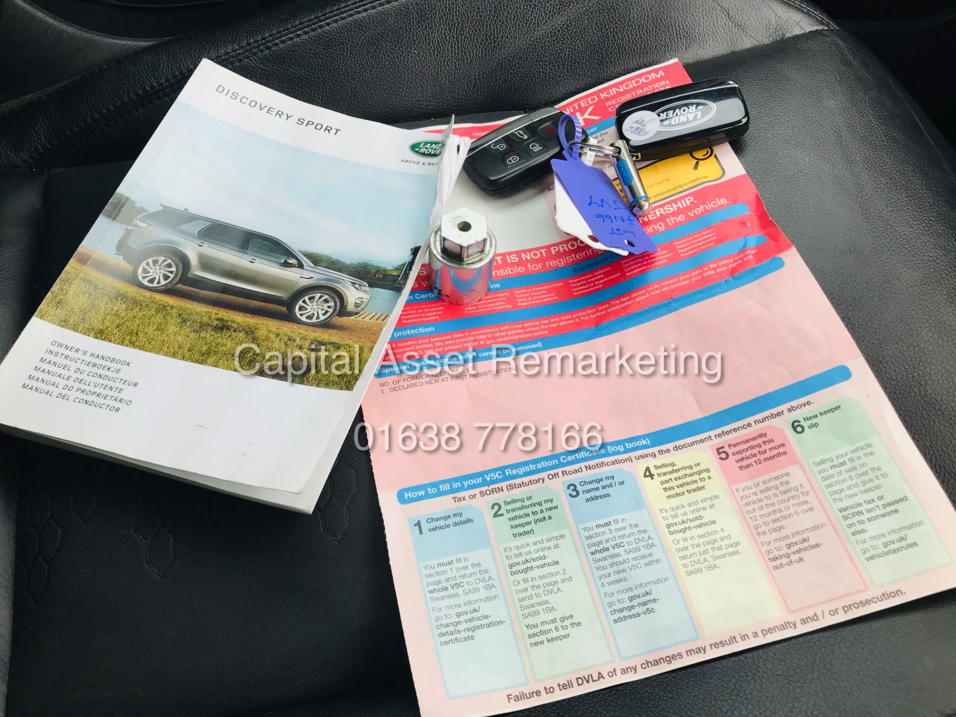 "(On Sale) LAND ROVER DISCOVERY ""SPORT - SE TECH"" (66 REG) AUTO -LEATHER -SAT NAV-*GREAT SPEC* NO VAT - Image 29 of 29"