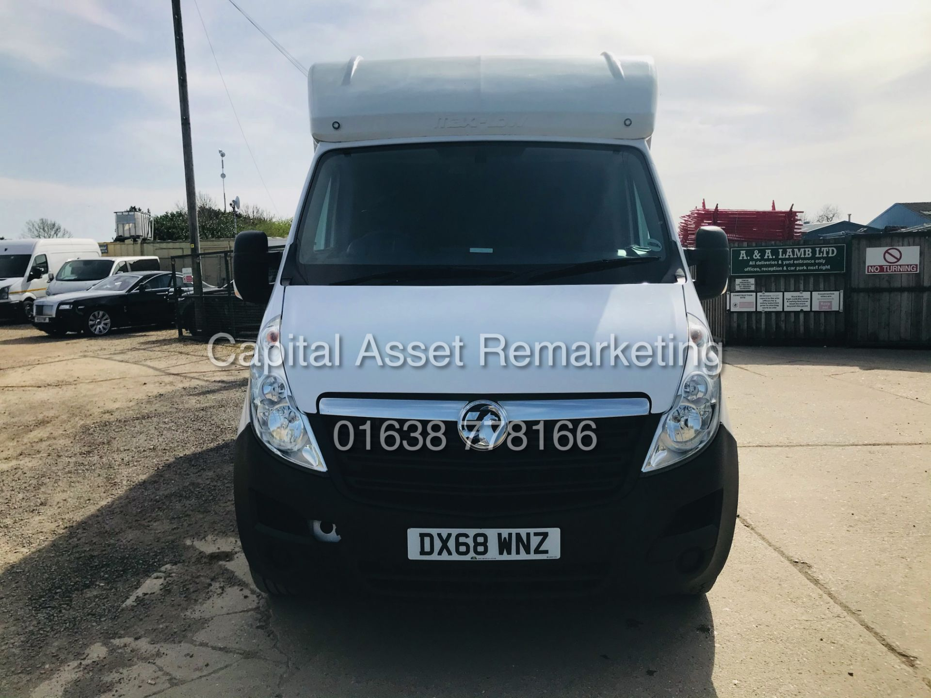 "ON SALE VAUXHALL MOVANO 2.3CDTI ""LOW-LOADER""14FT LUTON BODY (2019 MODEL) 1 OWNER *AIR CON*-ELEC PACK - Image 4 of 23"